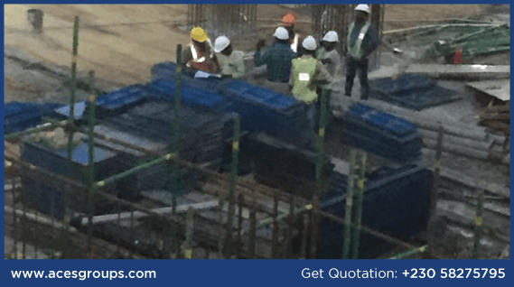 formwork-at-supreme-court-site