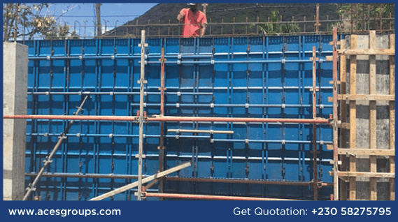 formwork-services-in-retaining-wall-at-tamarin