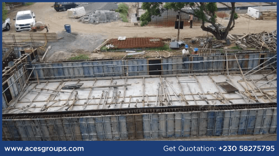 formwork-at-black-water-river