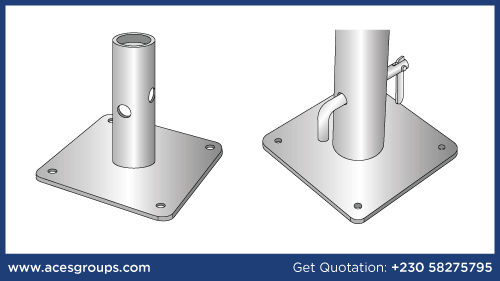 base-plate-with-pin-manufacturer-and-supplier-in-mauritius